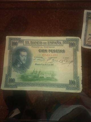 se venden billetes de pesetas Baco de España