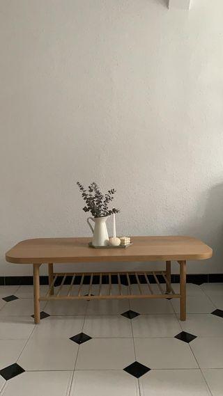 mesa centro IKEA LISTERBY 140x60