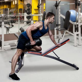 Banco de Mancuerna Máquina Musculación Multifuncio