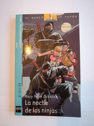 """Libro: """"La noche de los ninjas"""""""