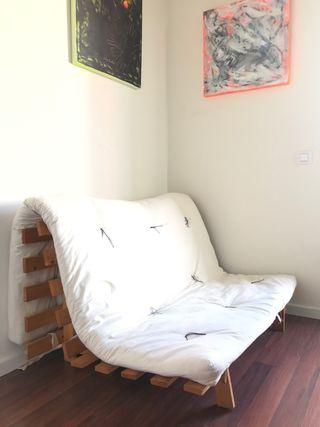 Sofá cama futón japones