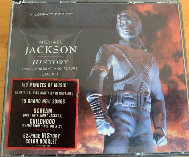Cd History Michael Jackson