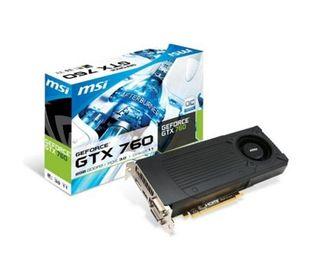 Nvidia GTX 760 2GB GDDR5 compatible con SLI