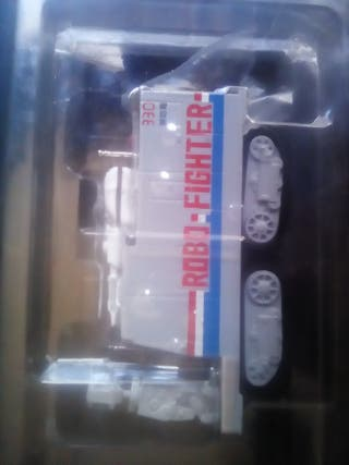 Robo Fighter.bomberos vehiculo con orugas.nuevo
