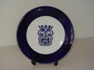 Plato porcelana Sargadelos
