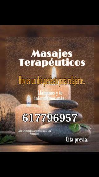 MASAJES PROFESIONALES TERAPÉUTICOS DE RELAJACIÓN