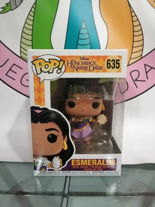 Funko Pop Esmeralda El jorobado de Notre Dame 635