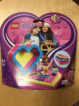 Lego friends caja corazón de olivia