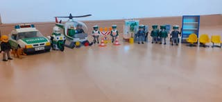 Lote Polizei Playmobil