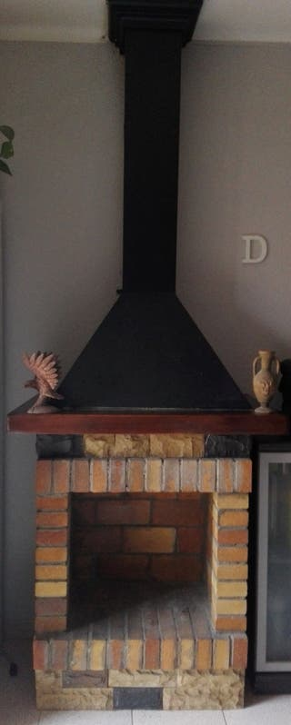 Chimenea decorativa