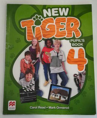 libro de inglés 4'primaria (New Tiger)