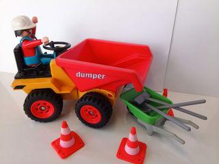 Playmobil 3756 Dumper construcción 1988