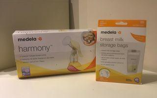 Medela Sacaleches Manual Harmony + bolsas confelac