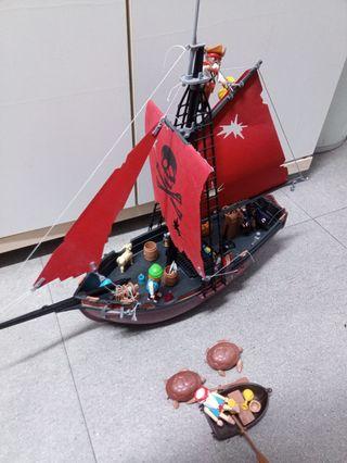 Playmobil Super Lote Barco y Piratas