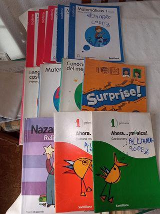 Libros texto primero y segundo primaria