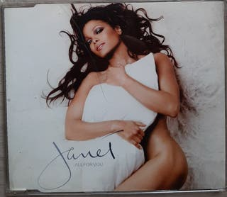 Cd JANET JACKSON. All for You. Cd single