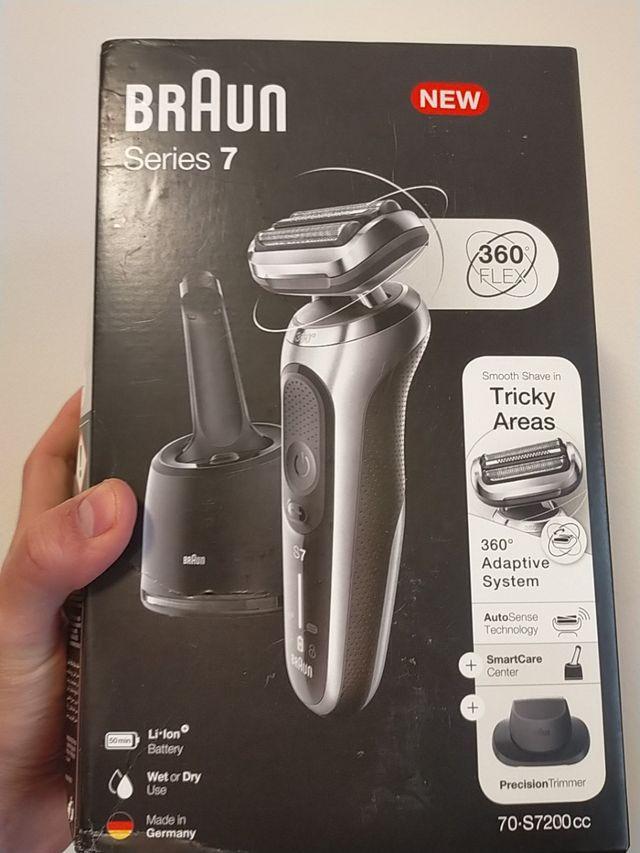 Braun series 7 nueva afeitadora maquina afeitar