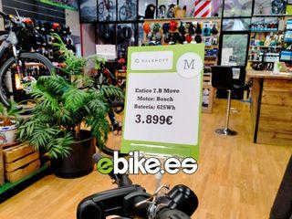 Bicicleta eléctrica polivalente motor Bosch