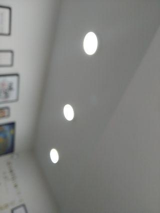 3 Bombillos para techo 18w