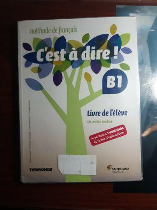 Libro de Francés (2°bachillerato)