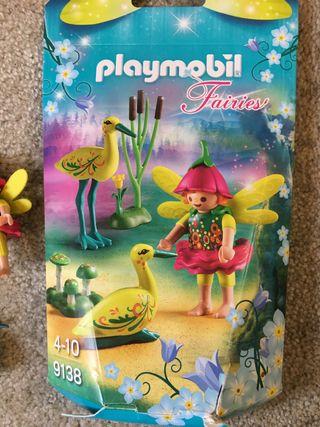 Playmobil Fairies niña hada con cigüeñas