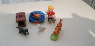 lote 5 conjuntos playmobil