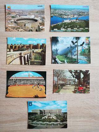 Varias postales antiguas de España
