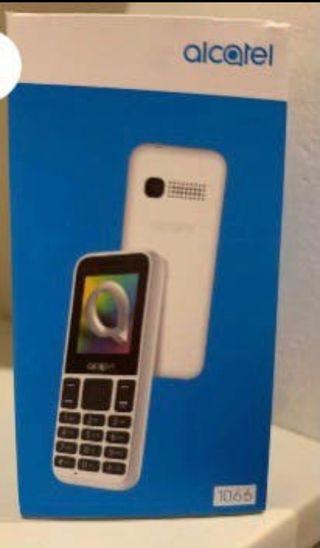Telefono teclas Alcatel 1066 libre, caja sin abrir
