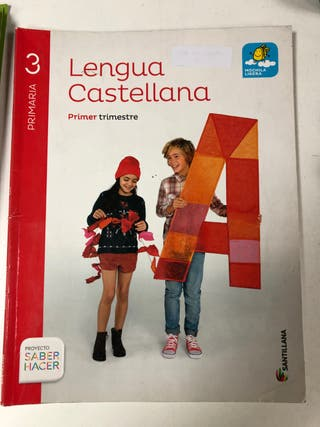 Libros de lengua tercero de primaria