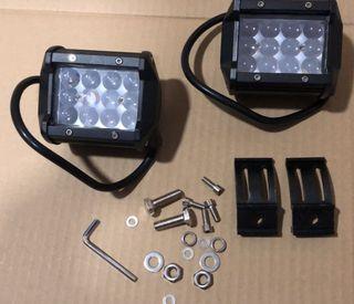 2 focos led nuevos quad luces led
