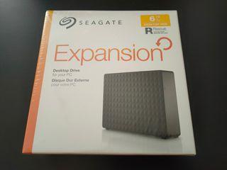 Disco duro Externo USB 3.0 HDD 6 TB SEAGATE Nuevo