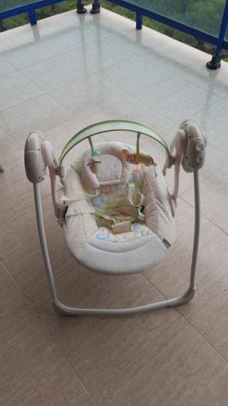 columpio de bebé eléctrico ingenuity
