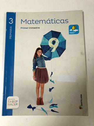 Libros de matemáticas tercero de primaria