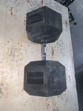 Mancuerna de 45kg