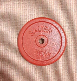 DISCO SALTER DE 15 KILOS.