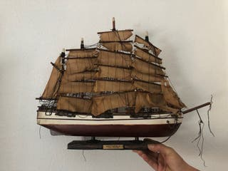 Maqueta velero antiguo