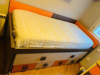 Dormitorio infantil juvenil completo