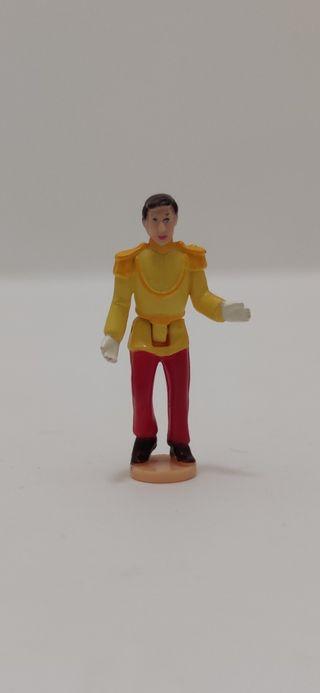 Figura Polly Pocket Disney Príncipe Cenicienta