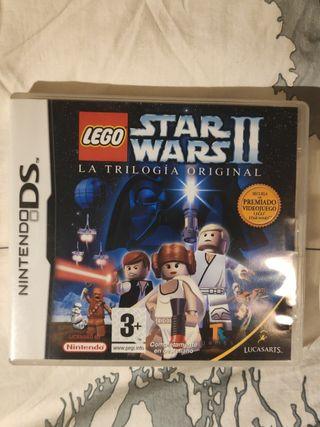 Star Wars 2 la trilogía original NDS