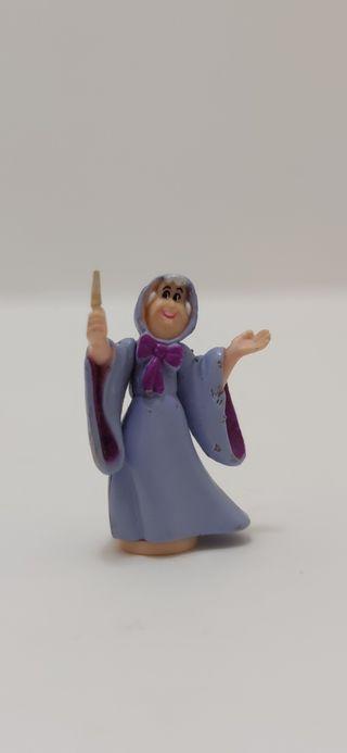 Figura Polly Pocket Disney Hada Madrina Cenicienta