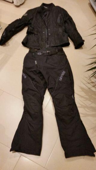 Cazadora-Pantalón motorista