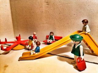 Parque infantil playmobil años80