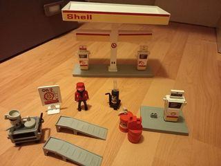 Gasolinera Playmobil años 90 shell