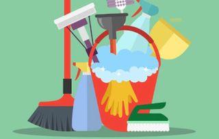 Hago limpieza de hogar