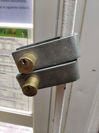 2 Candados con su llave
