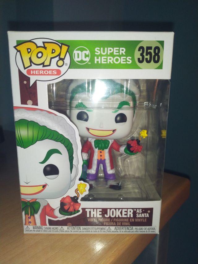 Funko Pop Joker As Santa