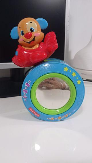 Juguete rueda estimulación de gateo.