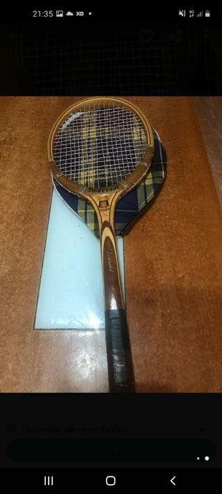 raqueta imperial antigua