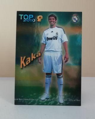 KAKA #614 REAL MADRID TOP AZUL MUNDICROMO 2009/10