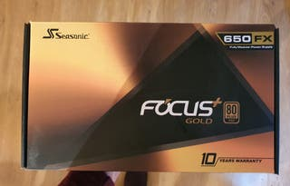 Seasonic Focus+ 650W 80 Plus Gold Modular
